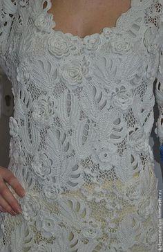 """Платья ручной работы. Ярмарка Мастеров - ручная работа Платье"""" Белые розы"""".. Handmade."""