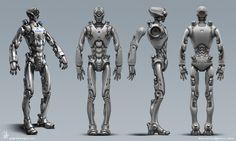 Robot nurse by swat3d Robot Concept Art, Robot Art, Robots, Zbrush, Humanoid Robot, Robot Technology, Illustrations, Cyberpunk, Sci Fi