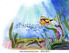 drawing seaweed - Google Search