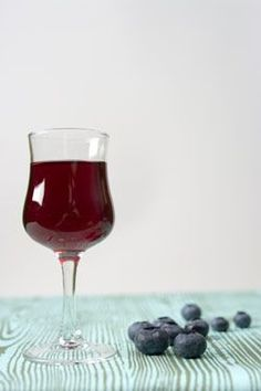 Learn how to make a blueberry liqueur to step-up your homemade cocktails.