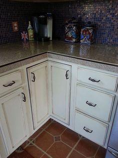 Kitchen Cabinet Makeover Kitchen Cabinet Redochalk Paint