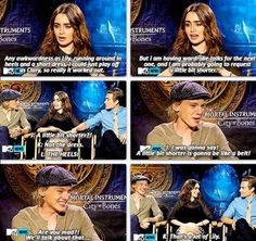 Interview with Lily Collins, Jamie Campbell Bower, and Kevin Zegers