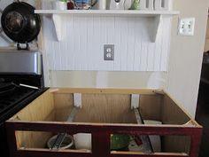 Encimera de madera para la cocina 2