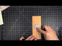 Adhesive Tips for Delicate Dies with Julie Ebersole. #ellenhutsonllc #ellenhutsonllcyoutube