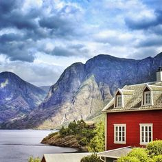 Aurland, Norway. Photo courtesy of mxleox on Instagram.