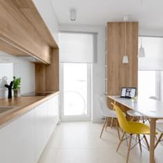 Discover recipes, home ideas, style inspiration and other ideas to try. Interior Design Pictures, Scandinavian Kitchen, Küchen Design, Picture Design, Dining Bench, Interior Decorating, New Homes, Wood, Furniture