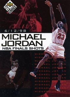 RARE 98/99 UPPER DECK NBA FINAL SHOTS MICHAEL JORDAN CHICAGO BULLS MINT