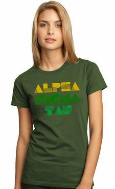 Alpha Sigma Tau - deco tee