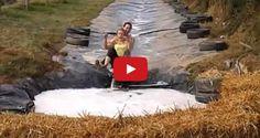 Самый лучший водный аттракцион в Ирландии Water Slides, Summer 2014