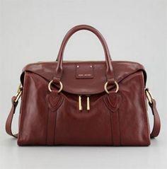 Satchel handbags brown - Marc Jacobs fall winter 2013 - 2014