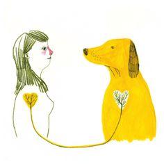 67 New Ideas For Dogs Illustration Boxer I Love Dogs, Cute Dogs, Animals And Pets, Cute Animals, Illustrator, Art Anime, Dog Illustration, Dog Quotes, Dog Art