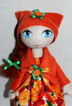 Улица кукольной теплоты: Куклы - девочки тыквоголовки