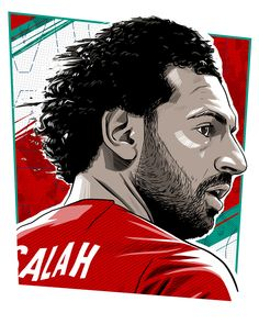Liverpool Players, Liverpool Fc, Caricature, Mohamed Salah Liverpool, Portrait Vector, Lionel Messi Wallpapers, Cristiano Ronaldo Juventus, Legends Football, Classic Football Shirts