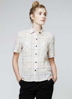 what a cute Northwestie shirt - Donelson Shirt - Black Cream