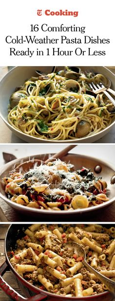 Seasonal, satisfying and on the table in about an hour. - Seasonal, satisfying and on the table in about an hour. Cooking For A Crowd, Cooking On A Budget, Easy Healthy Dinners, Quick Easy Meals, Pasta Dishes, Food Dishes, Nytimes Recipes, Pasta Recipes, Cooking Recipes