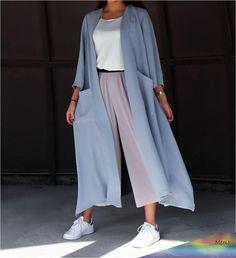 iranian women fashion Abaya Style 466263367669774575 - Source by melikaardestani Modern Hijab Fashion, Hijab Fashion Inspiration, Abaya Fashion, Muslim Fashion, Modest Fashion, Fashion Clothes, Fashion Dresses, Clothes Women, Fashion Ideas
