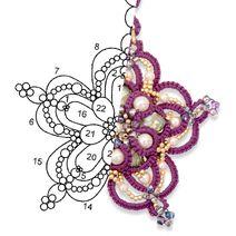 212x212 orecchini purple star