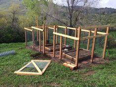 DIY Wooden Garden Fence Gate Pictures) - Our Homestead Life Garden Pond Design, Diy Garden Fence, Backyard Fences, Backyard Projects, Garden Gates, Backyard Landscaping, Fence Gates, Wooden Fence, Wooden Garden