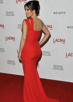 Kim Kardashian Lacma Red Dress Mermaid One Shoulder Celebrity - Celebrity Dresses - Special Occasion Dresses By AndyBridal Wedding Dresses