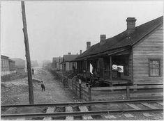 Negro homes - homes of poorer classes, Chattanooga, Tenn.