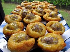 Sausage Biscuit Bites - Football Friday | Plain Chicken#more#more
