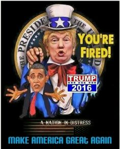 Enough of obama!!!! Trump isn't my main choice, but this picture has truth to it!