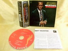 CD/Japan- MILES DAVIS My Funny Valentine w/OBI RARE mini-LP DSD master SRCS-9706 #ModalJazz