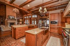 27703 Charter Lake Ln Katy, TX 77494: Photo Open kitchen and living room great for entertaining