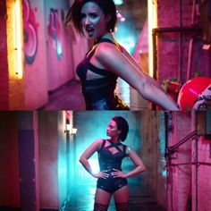 Demi Lovato in her music video Cool for the Summer. via Instagram