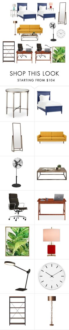 """Untitled #2664"" by claireyim ❤ liked on Polyvore featuring Redford House, Mitchell Gold + Bob Williams, Swan, Vitra, Barclay Butera, Kate Spade, CB2, Rosendahl, Tribecca Home and Heathfield & Co."