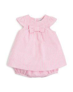Absorba Infant Girls' Seersucker Dress & Bloomers Set - Sizes 0-24 Months