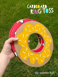 Summer Crafts For Kids & DIY Garden Games Cardboard Ring Toss quick summer craft for kids for hours of giggles and healthy competition in the garden // MollyMooCrafts The post Summer Crafts For Kids & DIY Garden Games appeared first on Summer Diy. Diy Garden Games, Backyard Party Games, Backyard Games For Kids, Outdoor Party Games, Backyard Birthday, Backyard Camping, Backyard Play, Summer Crafts For Kids, Hobbies And Crafts