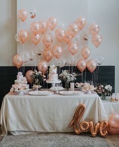 Bridal Shower Decorations 480126010276897563 - Pink baby shower with lots of balloons Source by Bridal Shower Decorations, Birthday Party Decorations, Wedding Decorations, Birthday Cake Tables, Balloon Table Decorations, 13th Birthday Parties, Gold Birthday, 14th Birthday, Gold Baby Showers