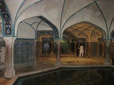 Hammam-e Ganj Ali Khan (Bathhouse), Kerman, Iran by Mike Gadd, via Flickr