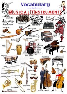 EFL practice - vocabulary - musical instruments