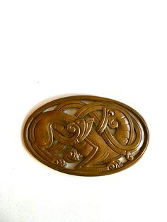 Gustav Gaudernack design for own workshop. Cast bronze buckles in dragon style. Prototype from wax model. Arts And Crafts Movement, Metal Working, Art Nouveau, Wax, Workshop, Dragon, Bronze, Models, Bracelets