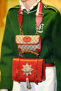 The Best Bags From Milan Fashion Week Gucci Fall 2017, Gucci Purses, Gucci Bags, Latest Bags, Milano Fashion Week, Fashion News, Fashion Trends, Runway Fashion, Fashion Accessories