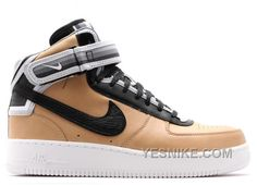 Buy and sell authentic Air Force 1 Mid Tisci Tan shoes and thousands of  other Nike sneakers with price data and release dates. 3816492b3