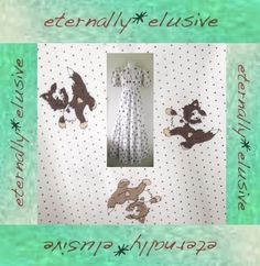 VTG 70s Novelty Cat Print Long Maxi Dress Boho Hippy Folk Wedding Festival 8 10