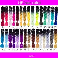 Hair Extension Crochet Braid Ombre expression Two Tone GREY OMBRE JUMBO Pre Braiding Hair  Synthetic Box Kanekalon Braiding Hair