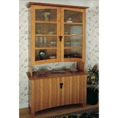 Woodworker's Journal Cherry China Cabinet Plan| Rockler Woodworking and Hardware