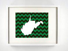 Marshall University Giclée Print  8x10   The by PaintedPost, $15.00 #paintedpoststudio