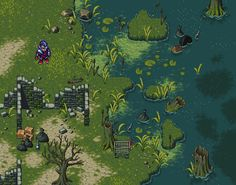 Title:	Swamps Pixel Artist:	david lunch