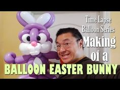 Ever wonder how I create my balloon figures? Come and catch a glimpse of my creation process in my time lapse videos! I will upload videos of my creation fro. Ballon Animals, Balloon Decorations, Easter Bunny, No Time For Me, Making Out, Videos, Balloons, Make It Yourself, Sculptures