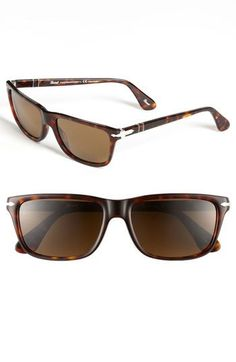 Persol 58mm Polarized Sunglasses available at  Nordstrom Black Sunglasses,  Oakley Sunglasses, Polarized Sunglasses f8c58c46005d
