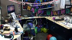 Excellent  Ideas Bonitas Office Decor Office Ideas Birthday Decorations Birthday