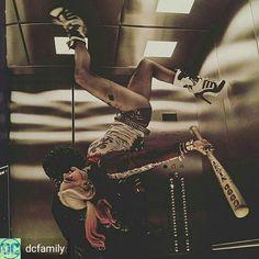 Margot did this stunt