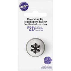 Buy Wilton Large Drop Flower Decorating Tip from the Piping Bags & Nozzles range at Hobbycraft. Free UK Delivery over and Free Returns. Cake Decorating Courses, Cake Decorating Techniques, Cake Decorating Tips, Walmart, Cookies And Cream Frosting, Piping Frosting, Icing Nozzles, Icing Flowers, Fondant Flowers