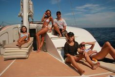 Cabana Cartel - a designer swim near company in Bali chose the luxury Waka Sailing catamaran for shooting their latest product range. Sailing from Benoa Harbour to Lembongan Island the Cabana Cartel team is seen relaxing on the outdoor deck of the catamaran.  Visit our website for more information at http://ift.tt/2ren97p  #wakasailing #wakahotelsandresorts #bali #lembongan #lembonganisland #island #snorkeling #catamaran #sailing #luxury #luxurycatamaran #bali #holiday #vacancy #sandbeach…