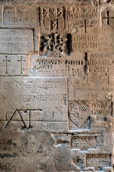 Prisoners' Graffiti at Tower of London